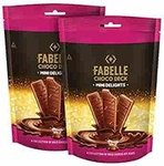 Fabelle Choco Deck – Mini Delights, Pack of 2x164gm, 8 Mini Milk Chocolate Bars Inside, Chocolate Gift for Your Loved Ones flat 50% off