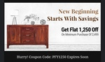 Pepperfry Flat Coupon - 50% Discount