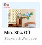 Asian Paints Wall stickers Min 80% Off | Starting from ₹89