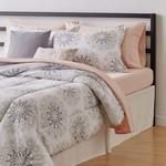 AmazonBasics 10-Piece Comforter Bedding Set, Full / Queen, Grey Boho Medallion, Microfiber, Ultra-Soft @ ₹1931 (regular price- 3900₹)