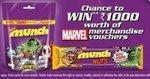Woohoo MUNCH NUTS Offer – Win ₹1000/- Marvel Merchandise Voucher