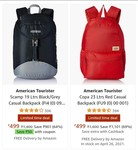 AMERICAN tourister backpacka upto 70% off start@ ₹ 499 + apply 50₹ coupons (many products)