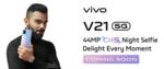 Vivo V21 5G | Launching on April 29th, 12 PM