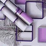 WOW Interiors PVC Self-Adhesive Square Wallpaper(45 x 400 cm)