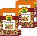 Vitonica Brown Walnut Kernels, Walnuts Without Shell Pack of 2 (250gm Each)