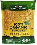 Grabfast Tata Sampann Organic Moong Dal, 500g