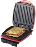 Wonderchef Sanjeev Kapoor Tandoor 63151933 1000-Watt Burger and Grill Master (Red and Black