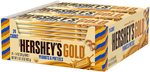 HERSHEY'S Gold Candy Bar, Caramelized Creme 24 Count, 952g