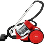 Inalsa Aristo Bagless Dry Vacuum Cleaner with Reusable Dust Bag  (Red)