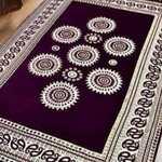 Tanishq Decor Designer Superfine Exclusive Velvet Carpet,Rug , Living Room,, Bedroom   Hall   School   Temple ,, Bedside Runner