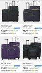 (METRONAUT) Pack of 3 luggage start @Rs 3299