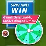 Amazon T20 CRICKET FEVER SPIN AND WIN Lenovo Ideapad, Garmin Smartwatch & more