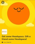 Timesprime - 3+3 months Headspace subscription