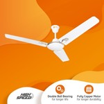 grab now- Orient Electric Ujala Plus 1200 mm Energy Saving 3 Blade Ceiling Fan  (White, Pack of 1) use 50 flipkart coins