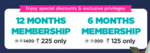 Netmeds first membership 12 months at Rs 225 | 6 months at Rs 125