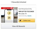 Amazon ( Back Again): Add Rs 1 Get Upto 125 Cashback |Recharge Rs 10 Get Upto 125 Cashback