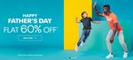 Happy Father's Day Sale Flat 60% Off On Selected Merchandise