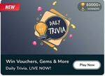 Flipkart Daily Trivia - Answers for 11th June 2021 - win gems