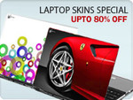 Shopclues: Laptop skins upto 94% off