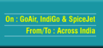 Flat 50% Cashback on domestic air tickets booked on GoAir, IndiGo or SpiceJet.