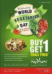 [Live] Rajadhani Restaurant: Buy 1 Thali and Get Another Thali Absolutely Free