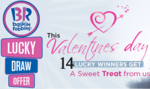 Baskin Robbins Lucky Draw Offer @ snapdeal