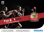 Philips Pizza Movie Tickets or Philips Fun and Fitness  @1/=