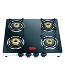 Prestige Marvel GTM 04 SS 4 Burner Glass Top Gas Stove At Rs. 4770/- next best price 5900/-(9%cashback for sbi card holders)