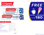 Buy colgate sensitive pro and get free ice cream at baskin robins or coffee