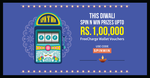 Recharge with Rs 50 on Freecharge & get free token (coupon code SPINWIN)