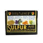 Soulflower Anti Acne Sulfur Soap, 150g 38% off @250 mrp 400