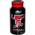 Nutrex Lipo 6 Black 120 Caps @1795/- (44% off) Mrp 3200 at Snapdeal