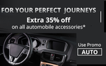 Extra 35% off on Auto Accessories