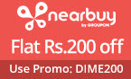 Flat 200 OFF on Rs 499 or above, valid on all local offers