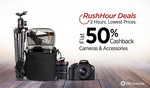 || FLAT 50% CASHBACK || ON CAMERA & CAMERA ACCESSORIES
