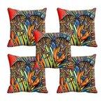 meSleep Horse 3D Cushion Cover (16x16) 5pcs @399/- (84% off) MRP2499/-