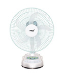 Snapdeal- Buy Eveready 10 Inches RF06 Rechargeable Table Fan White at just Rs 1299 only