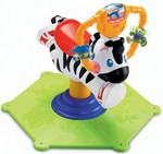 FISHER PRICE BOUNCE AND SPIN ZEBRA(White)@4321 MRP 6999 || Check PC