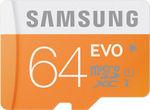 Samsung 64GB Evo MicroSDXC 48MB/s Class 10 worth Rs. 1699 for Rs. 1133 - Infibeam