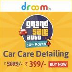 Droom : Discounted Prices on Auto Services like Car Care Detailing, Road Side Assistance, Warranty  and Auto Inspection