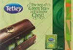 Tetley Green Tea Lemon and Honey 100 with Tea Chest Free Rs 450 (59% Off) @Amazon