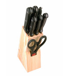 Pepperfry: Birde Stainless Steel & Wood Knife - Set of 8