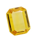 Rashi Ratan Bhagya Yellow Sapphire (Pukhraj) Gemstones Cts. 2.51 Ratti 2.76 for Rs.799 in Snapdeal