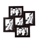 Buy Wens Brown MDF 5 Pictures Photo Frame For Rs.500