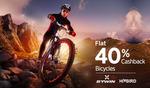 Cycling - Flat 40% Cashback @Paytm (Back Again)