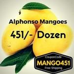 Sweetsinbox: Alphonso Mangoes 1 Dozen at Rs. 451/-
