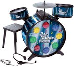Amazon : Simba My Music World Electronic L+S Drum, Multi Color @ Rs.799 MRP Rs.3999 [80%OFF]