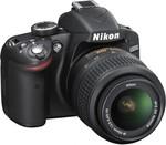 Nikon D3200 (Body with AF-S DX NIKKOR 18-55mm f/3.5-5.6G VR II Lens) DSLR Camera @ 20,499