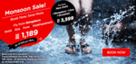 AirAsia: Monsoon Sale Starting from Rs. 1,189 | Valid till 5th June 2016
