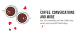 15% Cashback at CCD via FreeCharge(Max Rs. 100)